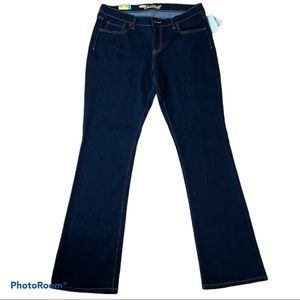 NWT Ladies Old Navy Sweetheart bootcut Jeans 12 L